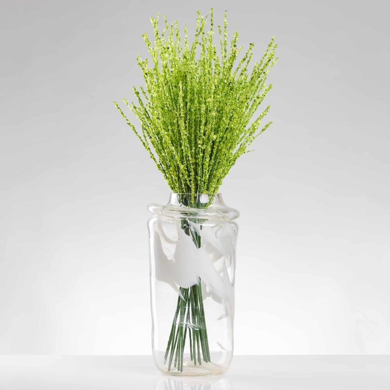 Umělá větvička VALÉRIE zelená. Cena uvedena za 1 kus.