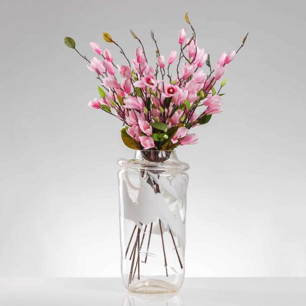 Selyem magnólia LENKA rózsaszín. Ár/darab.