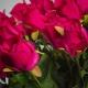 Selyem rózsa ERIKA ciklámen. Ár/darab.