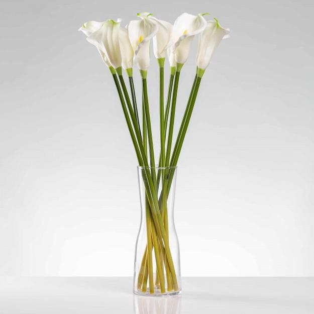 Umělá kala ALENA bílo-krémová. Cena uvedena za 1 kus.