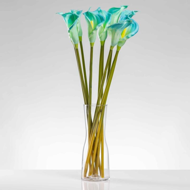 Umelá kala ALENA modrá. Cena uvedená za 1 kus.