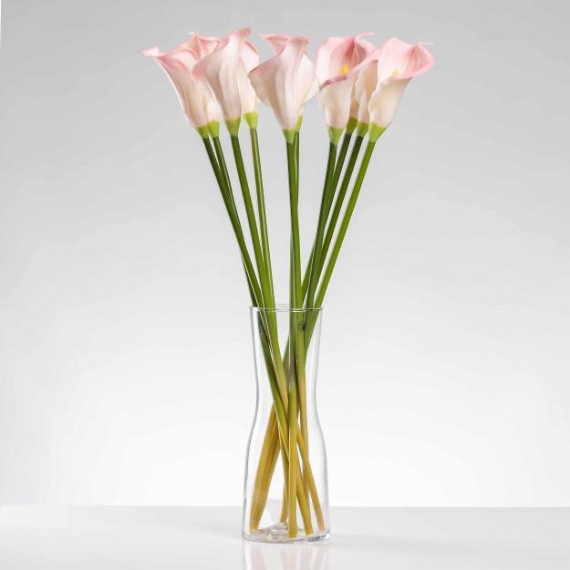 Umělá kala ALENA růžová. Cena uvedena za 1 kus.