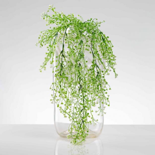 Umělá popínavá rostlina AGÁTA bílo-zelená. Cena uvedena za 1 kus.