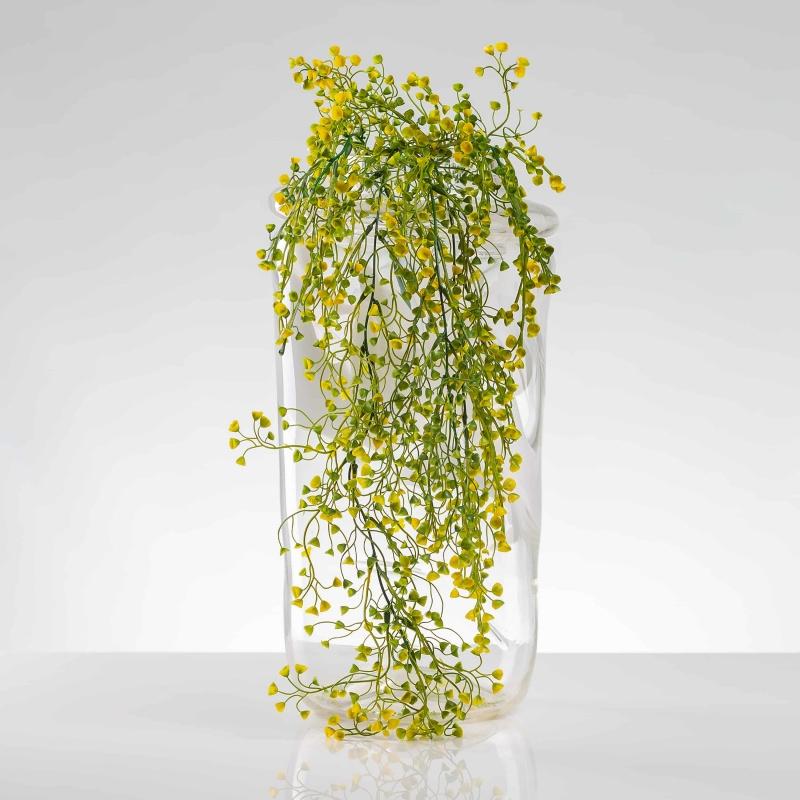 Umelá popínavá rastlina AGÁTA žlto-zelená. Cena uvedená za 1 kus.