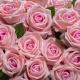 Jedinečná zamatová umelá ruža ANNA