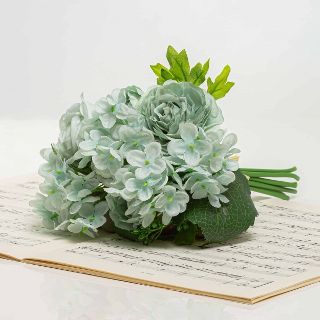 Bouquet of hydrangeas and roses BRIGITA