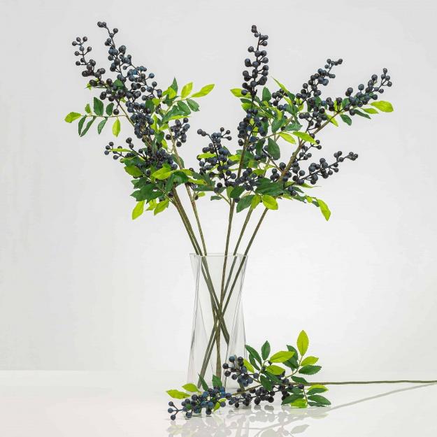 Mű ágacska bogyókkal SOFIA áfonya színű Ár/darab.