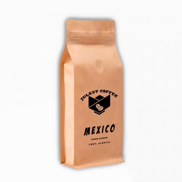 Zrnková káva MEXICO světle pražená