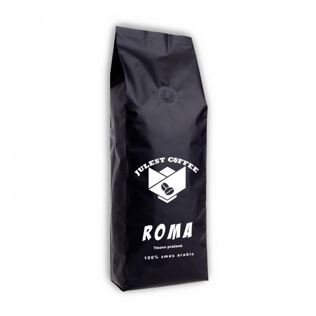 Zrnková káva ROMA
