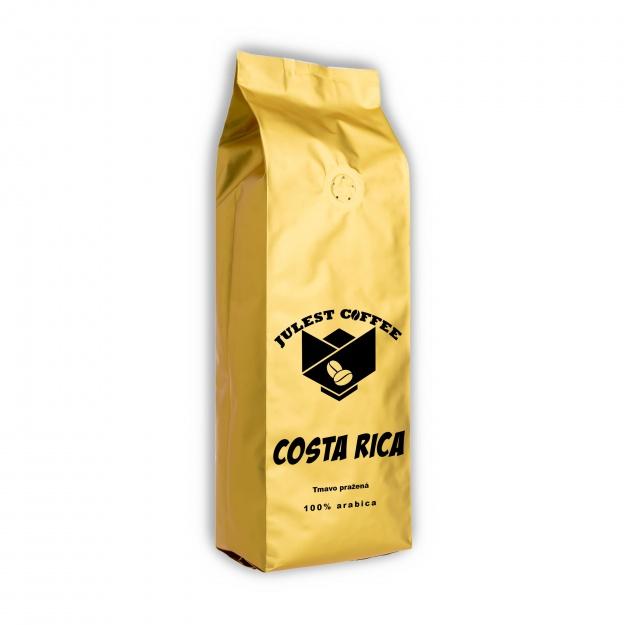 Zrnková káva COSTA RICA tmavě pražená