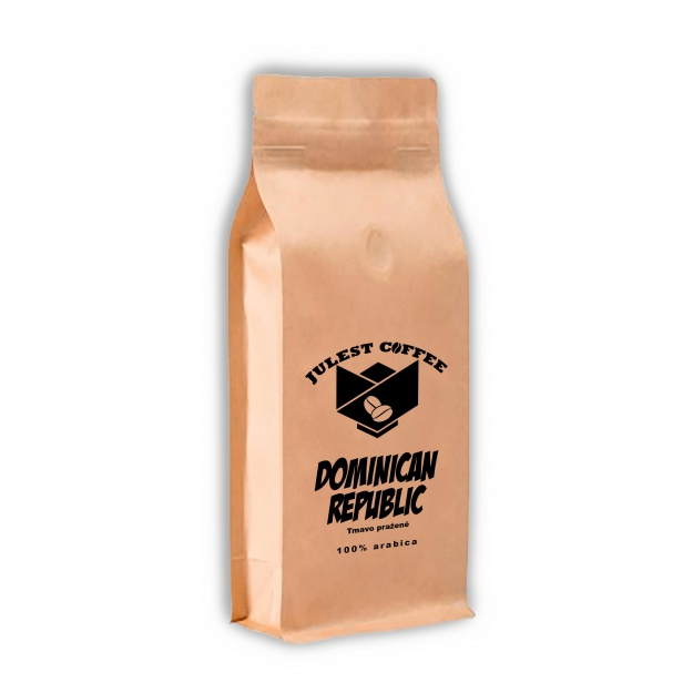 Zrnková káva DOMINICAN REPUBLIC tmavo pražená