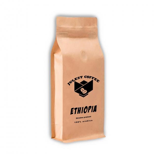 Zrnková káva ETHIOPIA stredne pražená