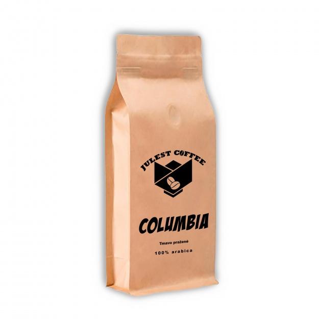 Zrnková káva COLUMBIA tmavo pražená