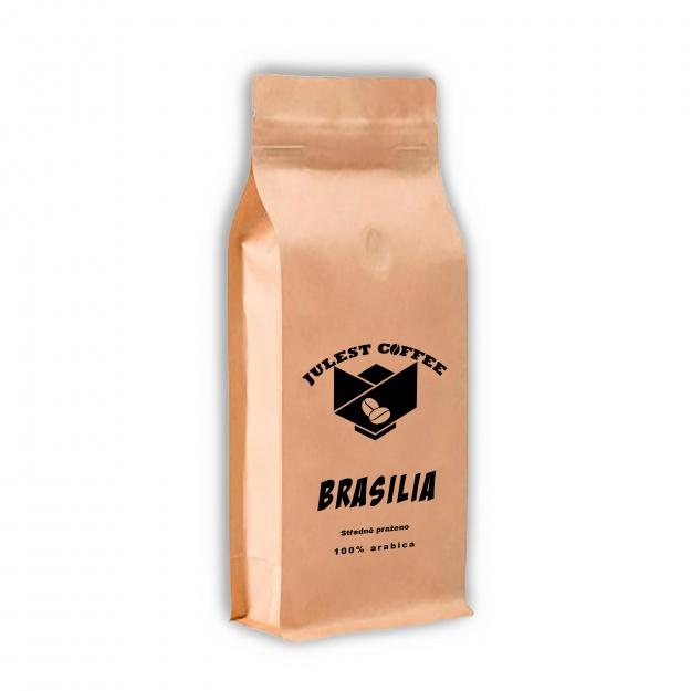 Zrnková káva BRAZILIA středně pražená