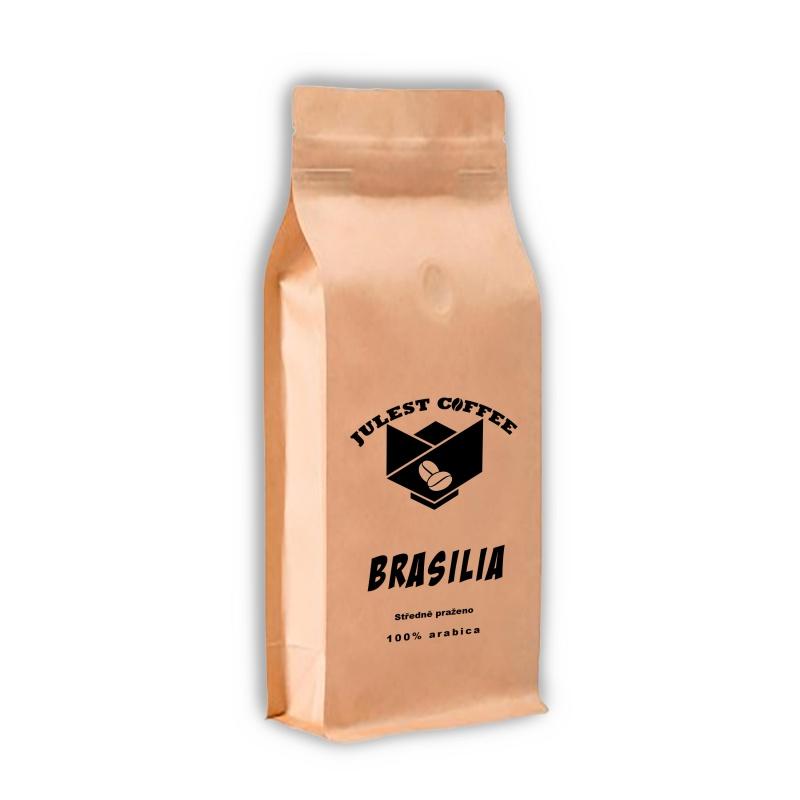 Zrnková káva BRAZILIA stredne pražená
