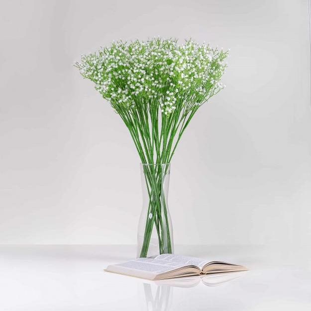 Umelá gypsophila JARKA biela. Cena uvedená za 1 kus.
