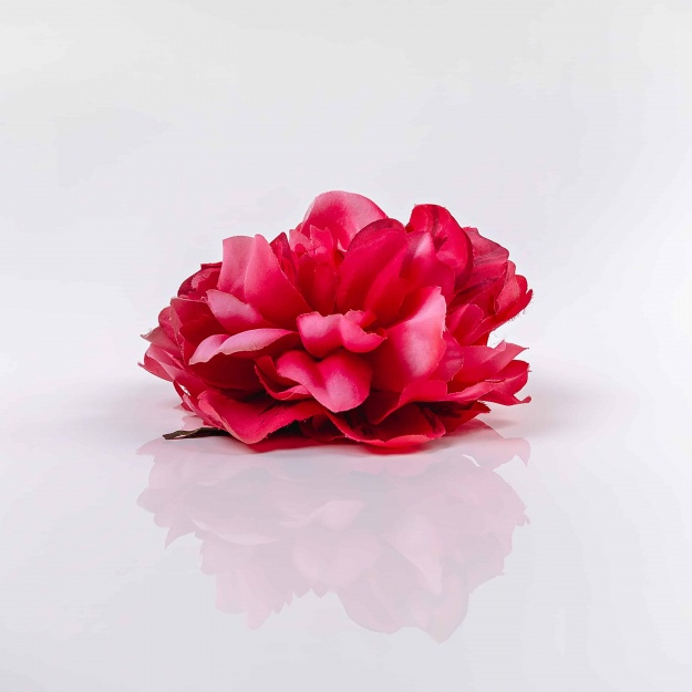 Charming, silk head of peony DENISA
