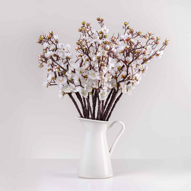 Cute, silk, flowering twig IVETA