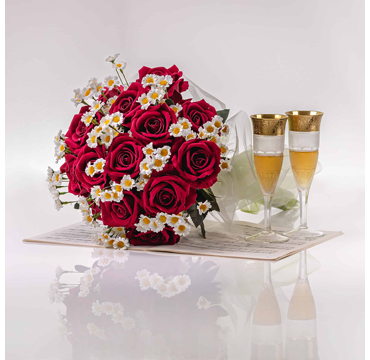 Say thank you with a boquet